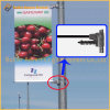 Весна Поляк уличного света - нагруженная установка знамени рекламируя кронштейн знака