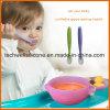 Nahrungsmittelgrad-Waren-Silikon-Produkt-Baby-Feld-Löffel-Filterglocke