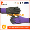 2017 Ddsafety нитриловые перчатки из пеноматериала точек на упоре для рук