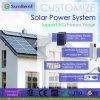 Personalizzare il vostro sistema solare standard commerciale del sistema di energia solare