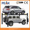 Outil hydraulique de garage d'atelier de levage de stationnement de quatre postes de la CE (409-HP)