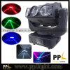 환영 빛 3X3 9PCS 12W LED 이동하는 맨 위 광속 빛