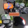 Mutifunction Fahrrad-vorderes Licht mit Lautsprecher Bell