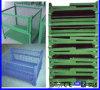 Casella/contenitore pieghevoli della maglia del nastro metallico di memoria del magazzino da vendere