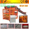 Petit bloc concret mécanique automatique faisant la machine Qtj4-26c