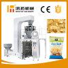Peso fritado vertical automático do petisco e máquina de embalagem