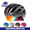 熱い販売のギョロ目が付いている屋外の循環の自転車の摩耗のヘルメット