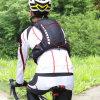 走行する工場スポーツのPackpackキャンプの循環の折る袋をハイキングする