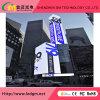 옥외 P8 충분히 방수 조정은 시각적인 광고 전시 화면을 설치한다