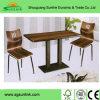 Jogos de madeira de aço da mobília do restaurante da boa qualidade