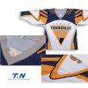 Jerseys reversibles de encargo del hockey de la sublimación, camisas de Jersey del hockey sobre hielo