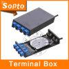 8 Boîte à bornes à fibres optiques de base FTTH Kit fibre optique (SDF-8SCWC)