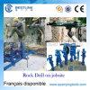 Broca de rocha pneumática poderosa portátil para a perfuração vertical de Wet&Dry