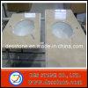 Tapa y encimera de mármol amarillentas (DES-C08) de la vanidad de la cocina Polished