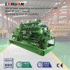 groupe électrogène de la biomasse 500kw réglé avec l'engine 12V190 à Kazakhstan