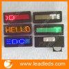 LED-Blättern-Text-Abzeichen, LED-Blättern-Abzeichen, LED-Namensbrett