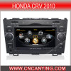 Автомобиль DVD для Хонда CRV 2010 с интернетом Dual Core 1080P V-20 Disc WiFi 3G набора микросхем A8 (CY-C009)