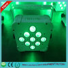 Поставщик Гуанчжоу! 9 этап СИД X18W Rgbaw+UV эксплуатируемый батареей беспроволочный DMX СИД освещает света Bars/DJ
