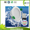Humid 장소 9W를 위한 최고 Brightness IP65 Waterproof LED Downlight