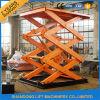 Ascenseur hydraulique vertical de cargaison d'entrepôt de haute performance pour l'atelier