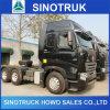 HOWO A7 4X2 6X4 420HP 지부티를 위한 트랙터 트럭