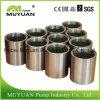 Parti orizzontali centrifughe resistenti della pompa dei residui - manicotto dell'asta cilindrica