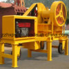 Jaw mobile Crusher con Diesel Engine