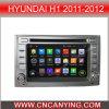 Reprodutor de DVD Android de Car para Hyundai H1 2011-2012 com GPS Bluetooth (AD-6224)