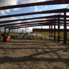반대로 지진 강철 구조물 프레임 Prefabricated 공장 건물