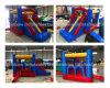 Mini castelos Bouncy infláveis usados HOME com corrediça para miúdos