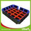 Le trampoline de fabrication commerciale personnalisée Grand trampoline d'intérieur