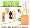 4.5 Watt Powe G/M Kasten Neckloop schwarzer Farben-Mikrokopfhörer-unsichtbarer Hörmuschel-Kopfhörer