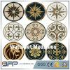 Medaglione personalizzato di disegno del pavimento del getto di acqua del marmo di stile