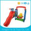 Cubierta de diapositivas niños juguetes y oscilación