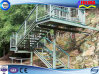 Prefab Escalera / Escalera de Acero Inoxidable para la Construcción