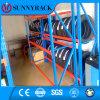 Custom Storage Warehouse Metal Tire Storage Rack para Indústria automobilística
