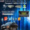 Surface adjacente visuelle androïde des multimédia HD de navigation de GPS pour 13-16peugeot 208, 2008, 308, 408, 508 (SYSTÈME de MRN)