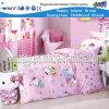 Mobiliário de crianças Hello Kitty cama de madeira (HF-07501)