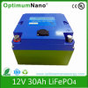 12V 30ah de Batterij van LiFePO4 voor het Karretje van het Golf en de Batterij van de Kar van het Golf 12V