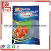 Seitliches Vakuumplastikverpacken- der Lebensmittelflacher Beutel des Heißsiegel-drei