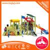 Piscina do jardim de infância Escola equipamentos de playground comercial de madeira