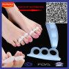 Silicona alivio del dolor del dedo del pie de apoyo del amortiguador del cojín del pie