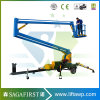 Hydraulic 8m 10m 180kg Mobile Articulating Lift Cherry Picker