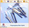 Micro fibre Polipropylene en plastique d'agrafes dans le béton