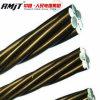 Hilo de alambre de acero galvanizado cubierto cinc del precio de fábrica