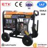 super Typ des geöffneten Rahmen-3kw Dieselgenerator-Set