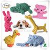 Diversão adoráveis animais de forma estanque Design dentição trançada Gomas de brinquedos para cães de pequeno porte