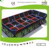 Cour de jeu du trempoline des enfants professionnels de Kaiqi (KQ50124A)
