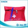 Petit sac de nécessaire matériel en nylon rouge de premiers soins de cadeau