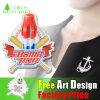 La ropa de diseño de la búsqueda de la actividad intermitente de la bandera insignia de solapa/Insignia en el precio de fábrica